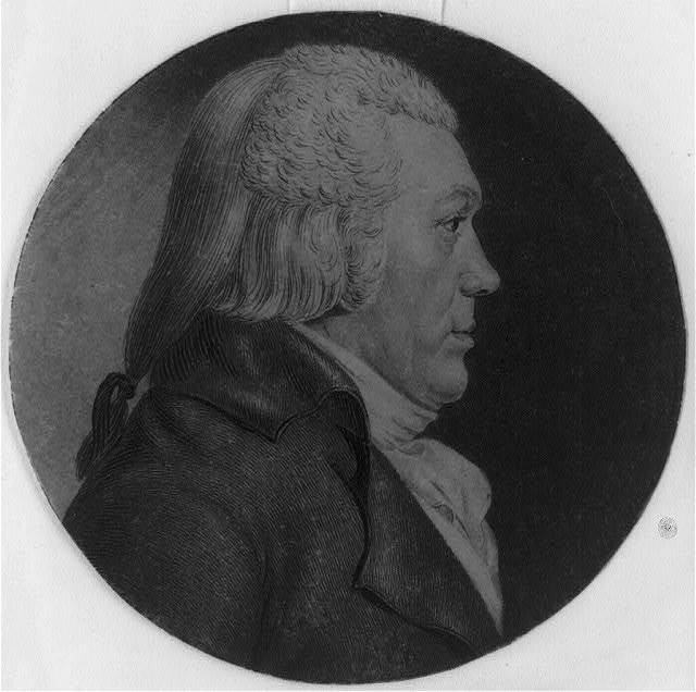 [Lewis Robert Morris, head-and-shoulders portrait, right profile]