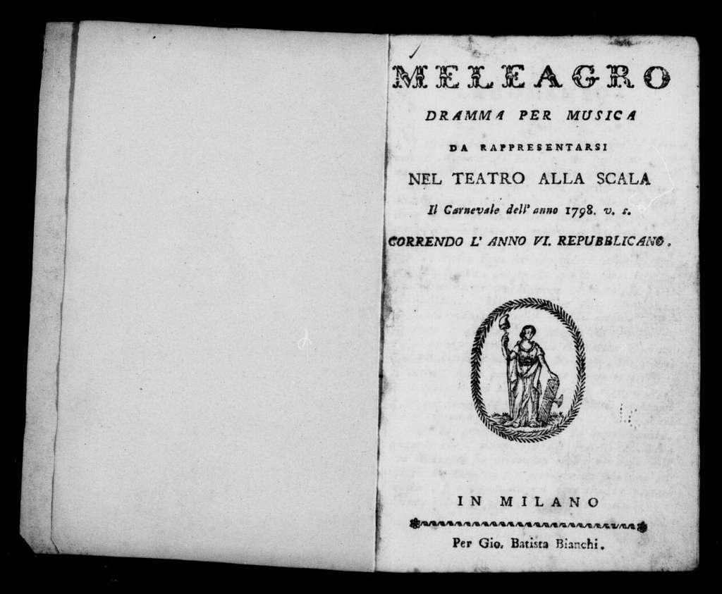 Reclutamento nel villaggio (ballo comico). 1798