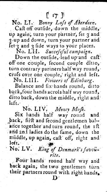 The  gentleman & lady's companion containing the newest cotillions and country dances, to which is added, instances of ill manners, to be carefully avoided by youth of both sexes