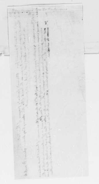 Thomas Jefferson, February 21, 1798, Newspaper Tracts