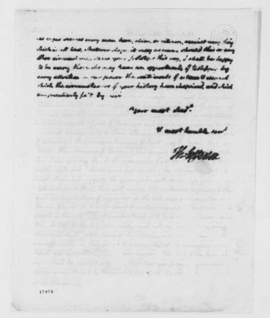 Thomas Jefferson to Archibald H. Rowan, September 26, 1798