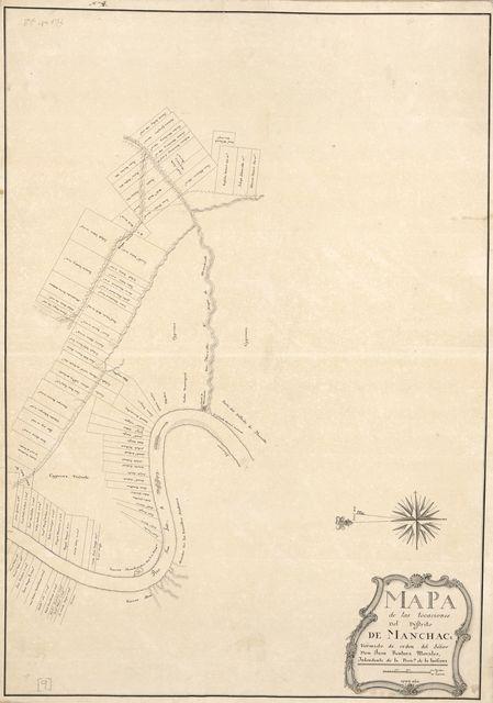 Mapa de las locaciones del Distrito de Manchack /