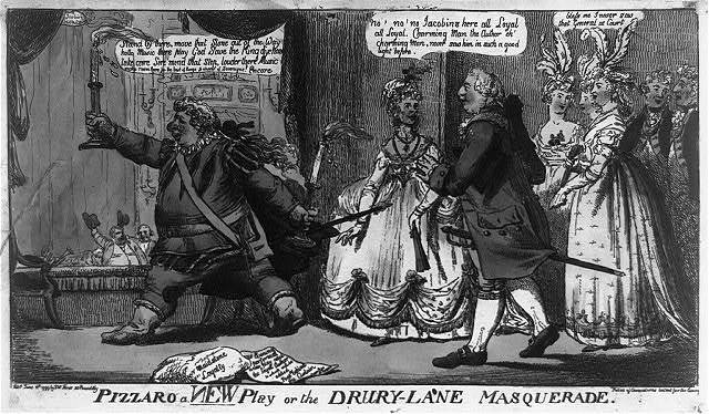 Pizzaro a new play or The Drury-Lane masquerade