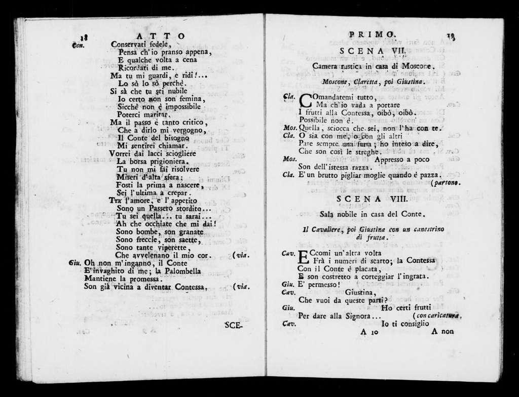 Sposa polacca. Libretto. Italian