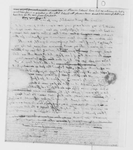 Thomas Jefferson to Charles Bellini, April 24, 1799, with Draft and Fragment Copy