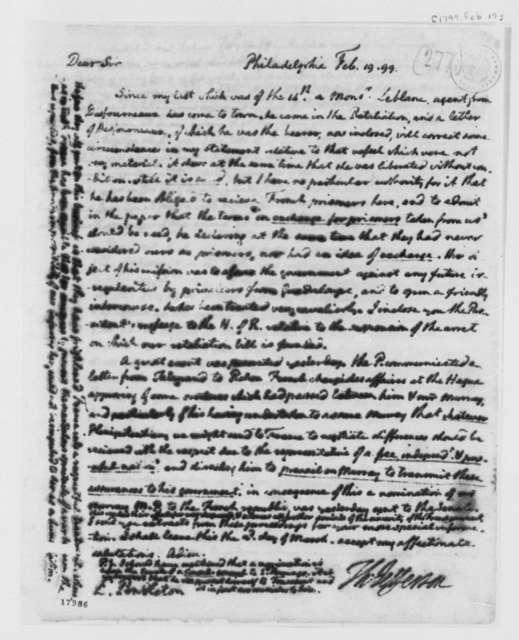 Thomas Jefferson to Edmund Pendleton, February 19, 1799