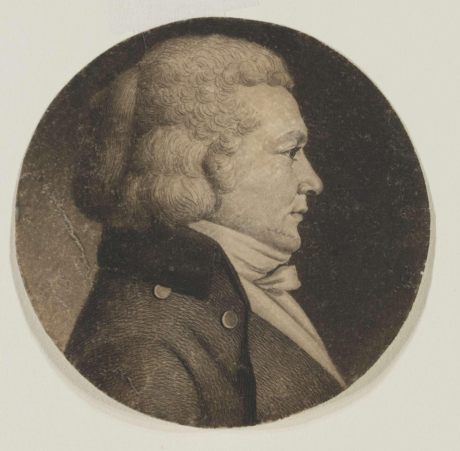 Thomas Truxtun, head-and-shoulders portrait, right profile