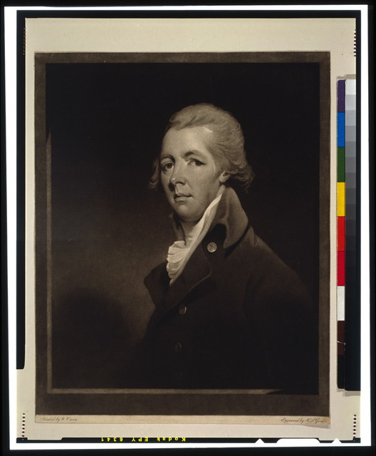 [William Pitt, Earl of Chatham, head-and-shoulders portrait, facing left] / painted by W. Owen ; engraved by H.S. Goed.