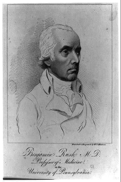 Benjamin Rush, M.D. Professor of Medicine, in the University of Pennsylvania