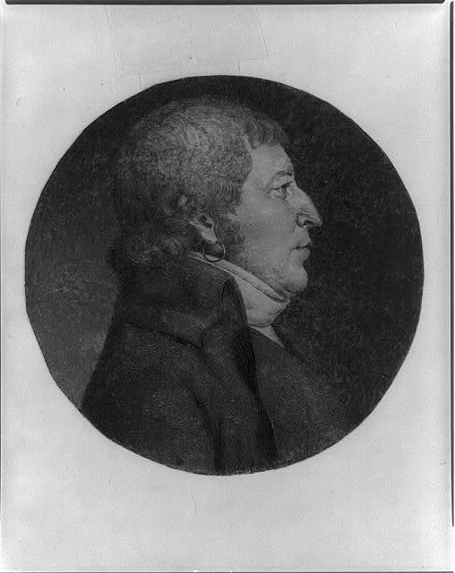 [Charles N.D. Gervais, head-and-shoulders portrait, right profile]