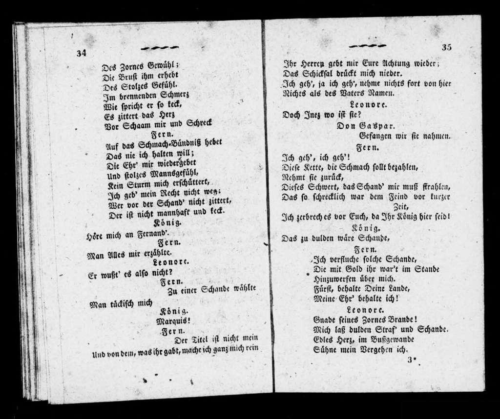 Favorite. Libretto. German