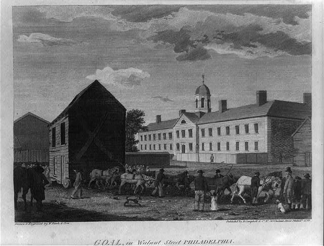 Gaol, in Walnut Street, Philadelphia