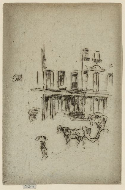 [Hansom cab, Wimpole Street]