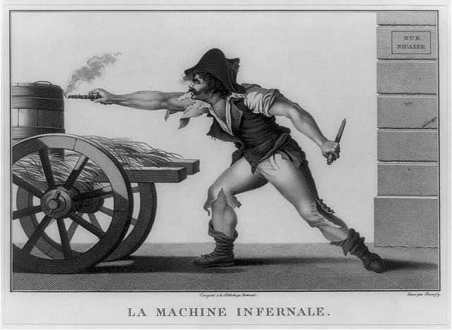 La Machine infernale / gravé par Bonnefoy.