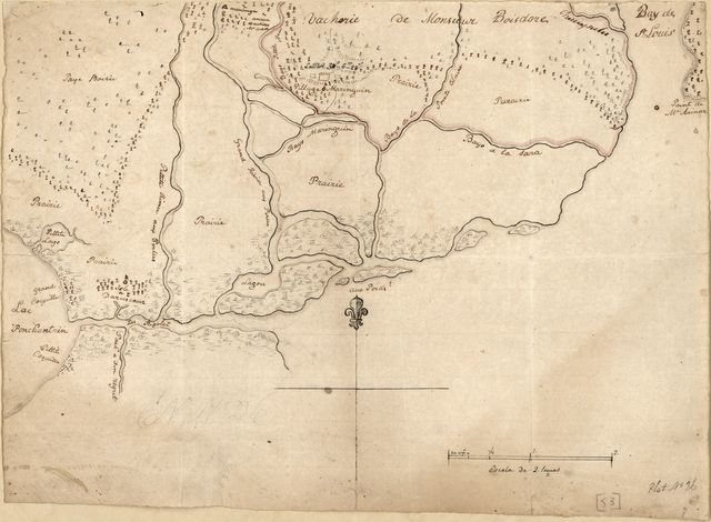 [Map of the Rigolet and the mouth of the Pearl River, Louisiana and Mississippi].