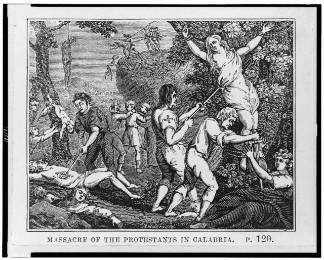 Massacre of the Protestants in Calabria