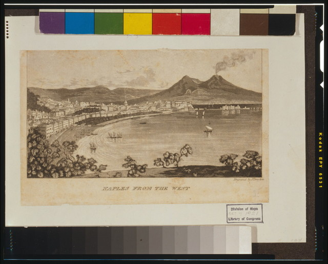 Naples from the west / J. Drayton.