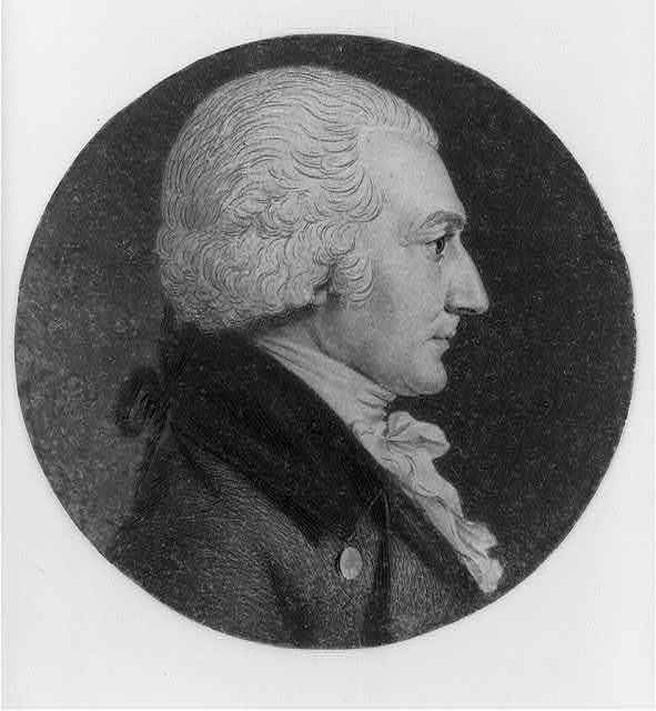 [Nathan Read, head-and-shoulders portrait, left profile]