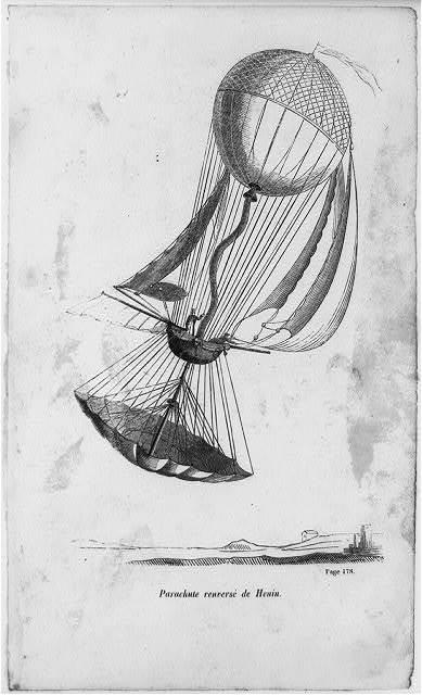 Parachute renversè de Henin