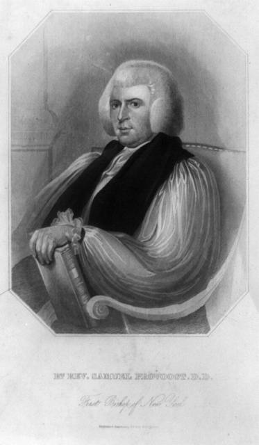 Rt. Rev. Samuel Provoost, D.D., first bishop of New York