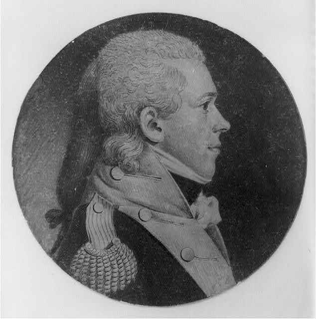 [Samuel White, head-and-shoulders portrait, right profile]