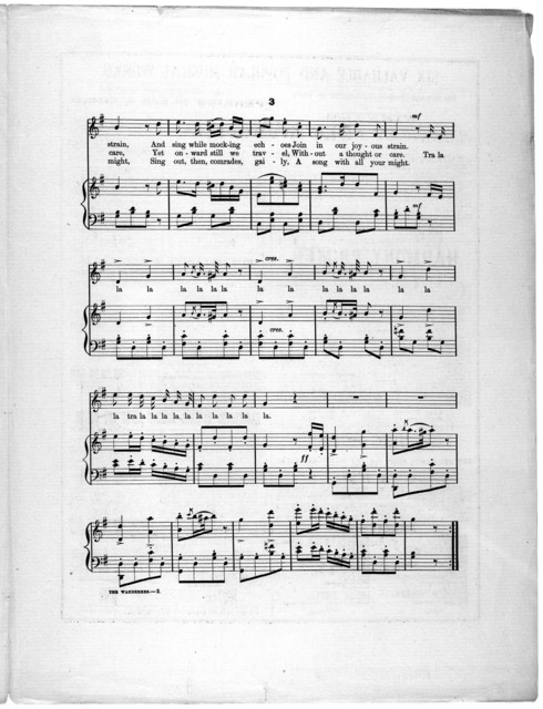 The  wanderers, op. 520, no. 6