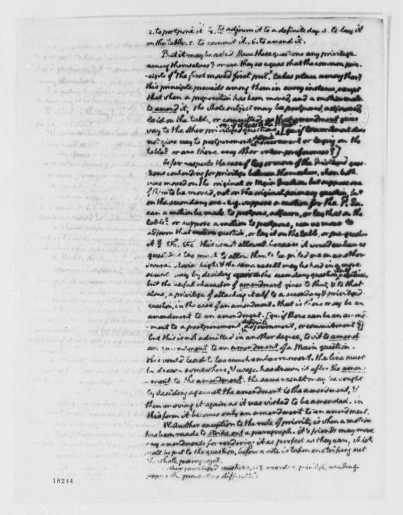 Thomas Jefferson to George Wythe, April 7, 1800, with Notes