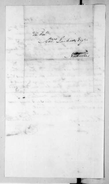 Thomas Johnson to Andrew Jackson, November 19, 1800