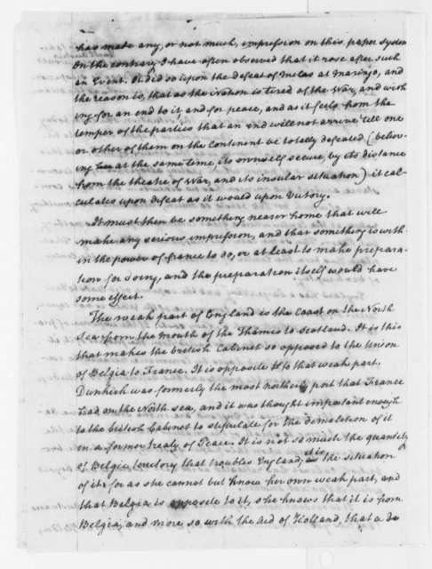 Thomas Paine to Thomas Jefferson, October 1, 1800