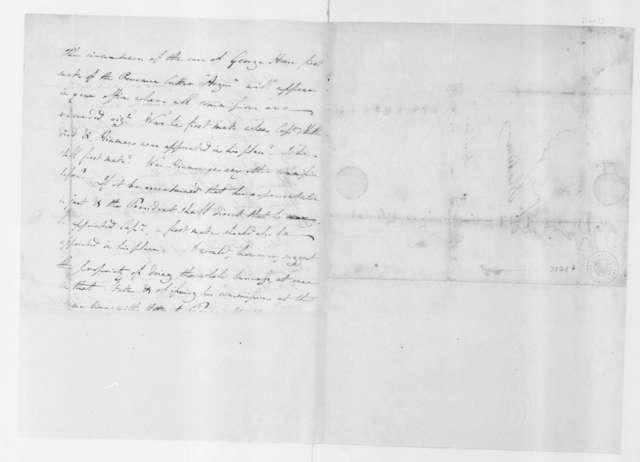 Albert Gallatin to James Madison. 1801-04.