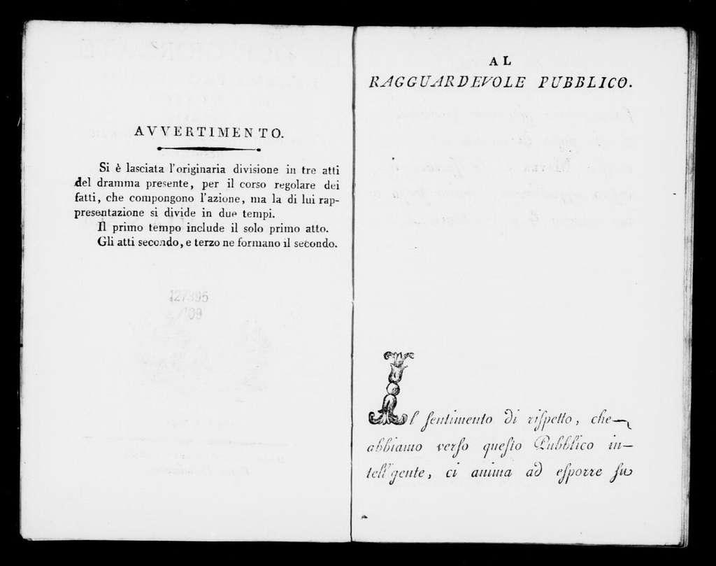 Baccanale (ballo). 1801