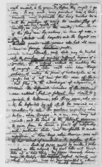 Benjamin Vaughan to Thomas Jefferson, June 24, 1801, with Thomas Jefferson Revisions