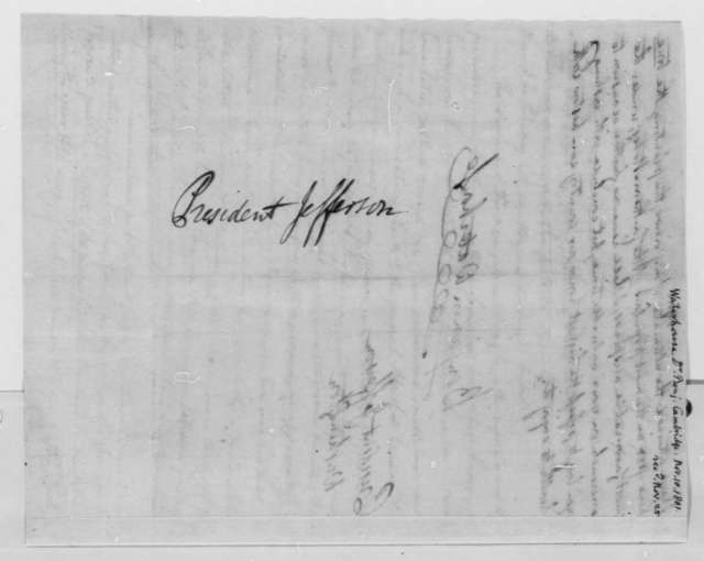 Benjamin Waterhouse to Thomas Jefferson, November 16, 1801