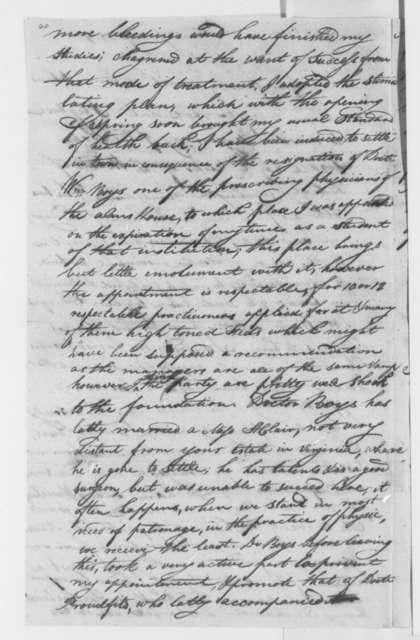 Elijah Griffiths to Thomas Jefferson, June 7, 1801