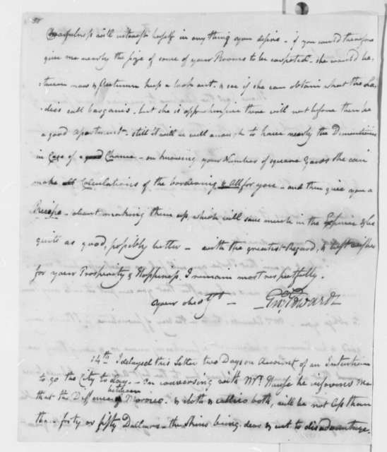 Enoch Edwards to Thomas Jefferson, May 12, 1801