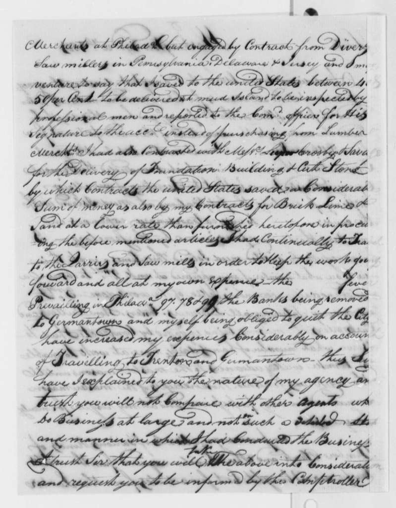 Francis Mentges to Secretary of War (Henry Dearborn), December 19, 1801