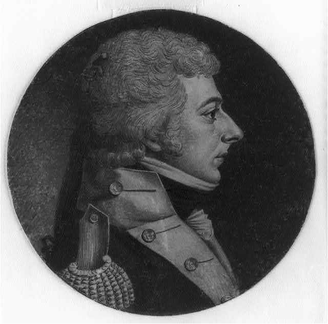 [James Thompson, head-and-shoulders portrait, right profile]