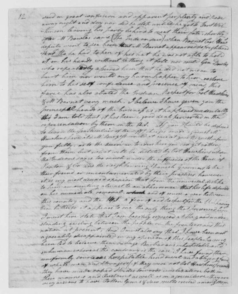 John D. Delacy to Thomas Jefferson, December 18, 1801