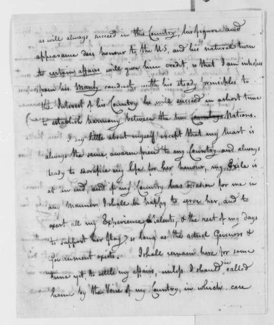 Joshua Barney to Samuel Smith, July 11, 1801