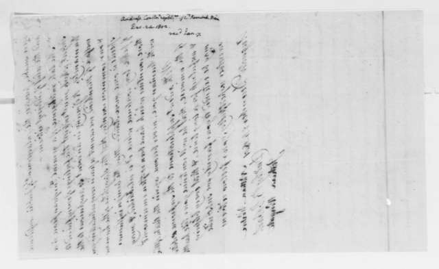 Kennebec County, Maine, Constitutional Republicans to Thomas Jefferson, December 24, 1801