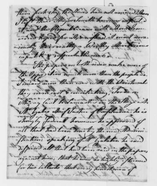 Matthew Lyon to Thomas Jefferson, April 4, 1801