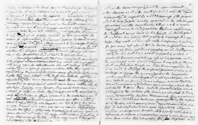 Noah Webster to James Madison, July 18, 1801.