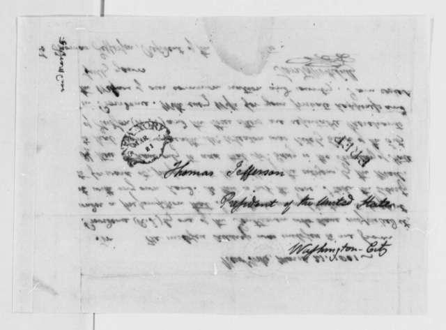 Samuel L. Mitchill to Thomas Jefferson, March 21, 1801