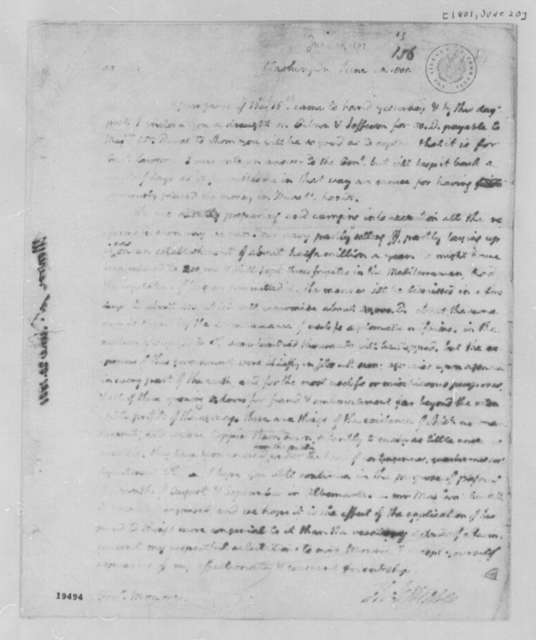 Thomas Jefferson to James Monroe, June 20, 1801