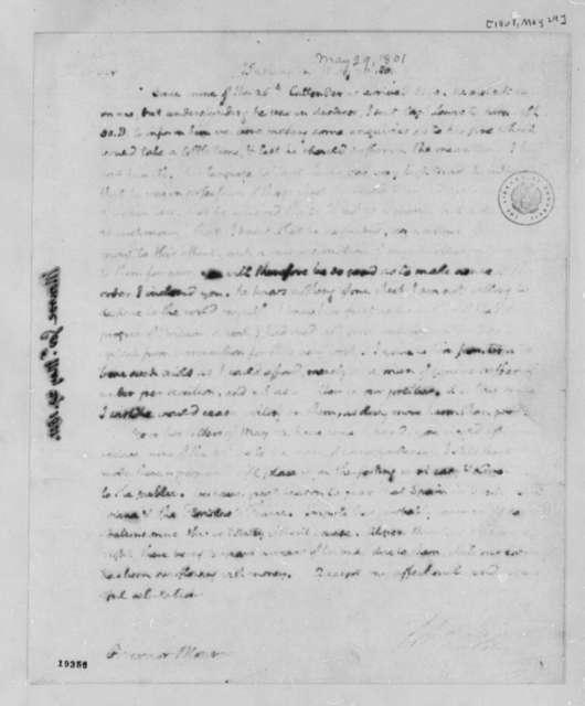 Thomas Jefferson to James Monroe, May 29, 1801