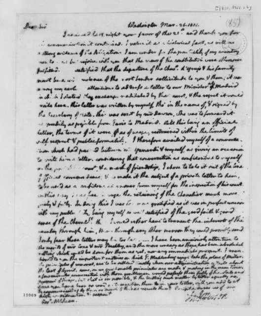Thomas Jefferson to Thomas McKean, March 26, 1801