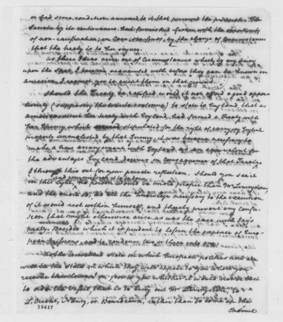 Thomas Paine to Thomas Jefferson, June 9, 1801