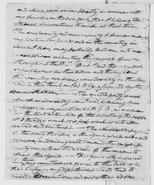 William B. Giles to Thomas Jefferson, June 1, 1801
