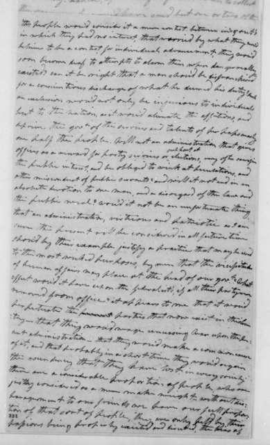 Wilson C. Nicholas to James Madison, May 1, 1801.