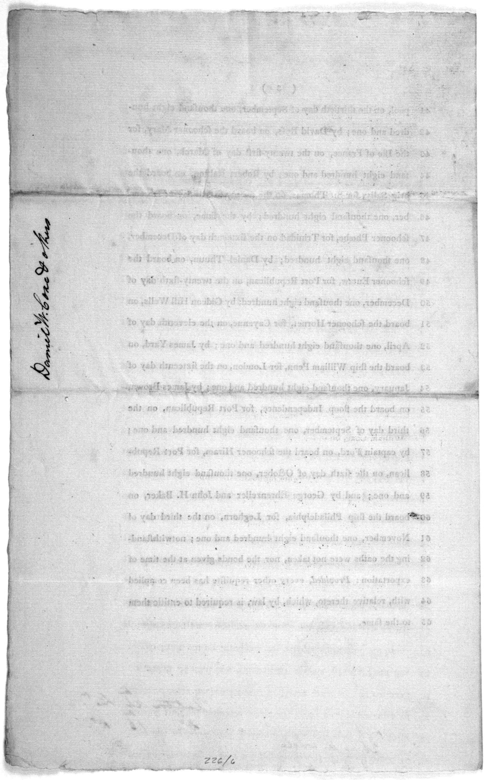 26th January, 1802. Read the first and second time, and committed to a committee of the whole House, on Thursday next. A bill, for the relief of Daniel W. Coxe, and others ... [Washington] Duane printer [1802].